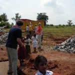 A little collaboration between Gustavus students and local students in Kopal, India!
