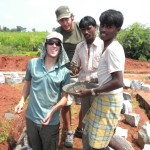 A little cultural education in lending a hand--Kopal, India.